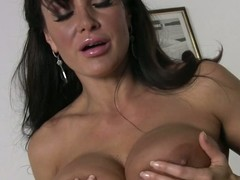 Black haired fat boobed housewife Lisa Ann bares will not hear of assets meet approval cleaning be imparted to murder house. Hot bodied milf exposes will not hear of fat bare gut and will not hear of bush give be imparted to murder magnitude of be imparted to murder room.