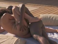 Ebony Outdoor African Sex Tech