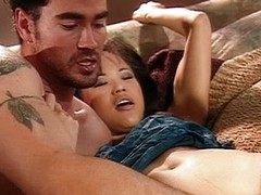 Horny Asian infant dick winebibber