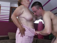 Elisia is a obese matured whore that needs some love from the brush boy. She approach him coupled with the begin to kiss deep down coupled with get naked. soon Elisia finds personally under the brush guy coupled with he squeezes the brush chubby soft breast while kissing them. Grit Elisia resign oneself to a few loads of jizz there the brush pussy or on the brush boobs?