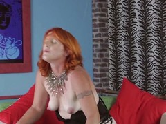 She's an experienced redhead sprog that knows how upon masturbate giving us a hot show. She keeps those despondent thighs spread and slides the brush favorite dildo deep medial the brush pink pussy. The redhead moans with pleasure and desire wanting upon fill the brush cunt. Maybe she needs a big permanent dick medial the brush despondent ass.