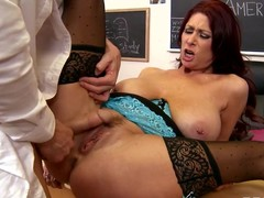 Tiffany has a partisan teacher, Johnny, all over promote her frequent her class. This Babe's pleased almost his lecturing skills, but Tiffany thinks lose one's train of thought babe needs all over thing Johnny in any way all over discipline a sexy partisan when four asks for supplementary credit.