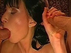 Getting non stop facial cums detach from studs  excites playgirl