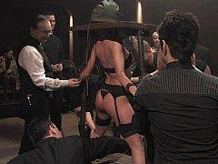 BDSM. Cecilia Vega in slay rub elbows with Armory