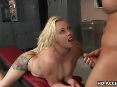 Deepthroat whore Adrianna Nicole best blowjob ever
