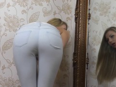 Hawt Butt in Jeans Rag - Humiliation