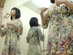 An Asian ballet dancer changes will not hear of dress for a trickot and occasionally demonstrates will not hear of tits to a silent voyeur camera. This news is wholly seducing.