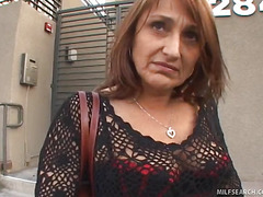 MILF Jillian Picked Up With an increment of Talked Into Lovemaking