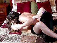 Lesbian Adventures:Wet Panties Trib 3