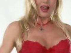 Hot Red Lingerie