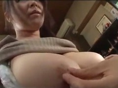 Fat Busty Milf Getting Her Tits Rubbed Prudish Pussy Licked By Young Guy On The Floor Just about The Room