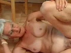 Insatiable Granny Just Loves Load of shit !