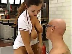 The psychiatrist enjoys body his patients bang