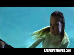 Supernova emma booth overt in water with big breasts drenched