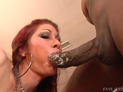 Hawt and powered slut can't live without engulfing a colossal disastrous shlong in POV !