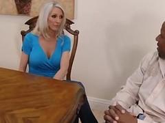 Gorgeous slut handjob
