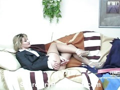 Christie&Adam slot pantyhose movie