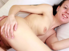 Dark Brown WIth Bushy Muff Gets Drilled Have a weakness for A Whore. HDVideo
