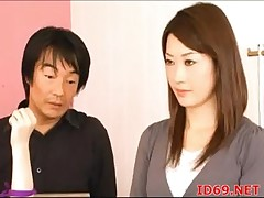 Japanese AV Whittle gets fucked