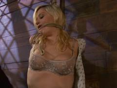 Superb Lacey Jane gets punished and toyed in bondage movie