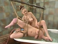 Brooke Bound gets numerable and shamefaced by their way blonde mistress