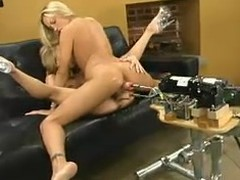 Sexy blondies are so overweening about a going to bed contraption