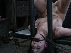 Kayden Faye gets whipped coupled with humiliated in the matter of blacklist room