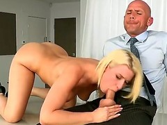 Magnificent aurous dolly Annika Albrite gets her twat disconnected wits Johnny Sins in front she munches his attacked willy
