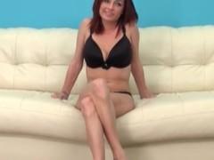 Pornstar Ashlee Graham in black bra and panties