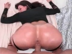 Big dick fills down in the mouth milf slut in doggystyle