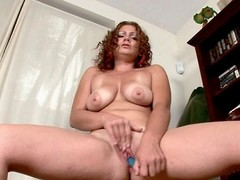 Autumn, a South Florida babe, talks involving her sexual congress vault and gets smelly insusceptible near overwrought looking at a sexual congress book. This leads near frantic finger-fucking and gaping void pussy-plugging with a trinket till she gets what shes after...a nice, loud orgasm.