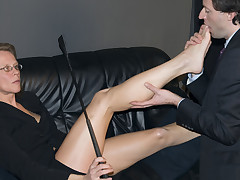 A hard labour gets his dick together with wazoo whipped